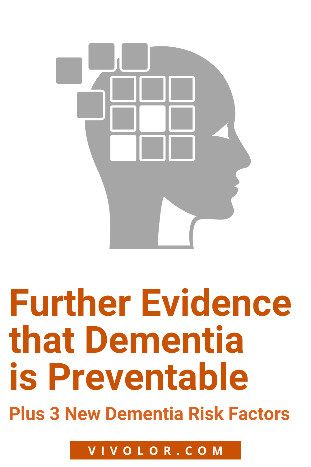Further evidence that dementia is preventable